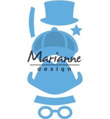 Marianne Design Creatable Kim's Buddies Boy Set (LR0475)