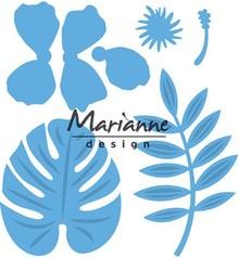Marianne Design Creatable Hibiscus & Tropical Leaves (LR0478)
