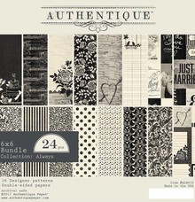 Authentique Always 6x6 Inch Paper Pad (ALW010)