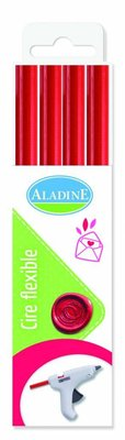 Aladine Wax Stick Red (72433)