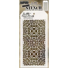 Stampers Anonimous Tim Holtz Ornate Layering Stencil (THS076)