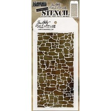 Stampers Anonimous Tim Holtz Stone Layering Stencil (THS086)