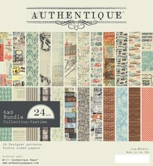 Authentique Pastime 6x6 Inch Paper Pad (PAS014)