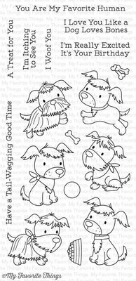 My Favorite Things Puppy Pals Clear Stamps (CS-217)