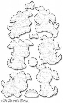 My Favorite Things Die-Namica Puppy Pals (MFT-1154)