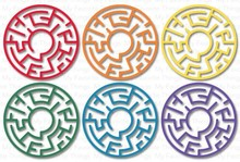 My Favorite Things Maze Shapes - Rainbow (SUPPLY-558)