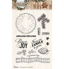 Studio Light Winter Woodland Clear Stamps (STAMPWW193)