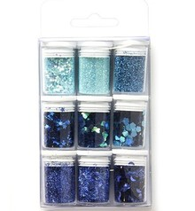Paperpads.nl SELECT Glitter Set Baby Blue (12194-9406)