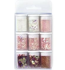 Paperpads.nl SELECT Glitter Set Baby Pink (12194-9407)