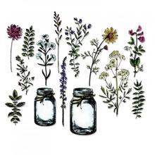 Sizzix Thinlits Alterations Flower Jar (662270)