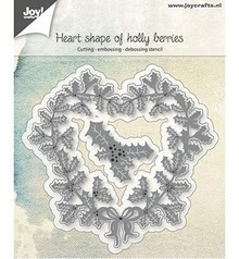 Joy!Crafts Cutting & Embossing Hart Shape Of Holy Berries (6002/0685)