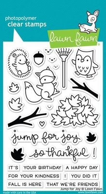 Lawn Fawn Jump For Joy Clear Stamps (LF1212)