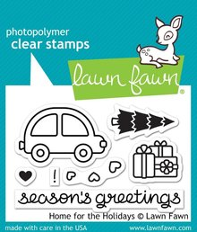 Lawn Fawn Home For The Holidays Clear Stamps (LF1220)