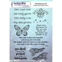 IndigoBlu Mindfulness #2 A5 Rubber Stamp (IND0355)
