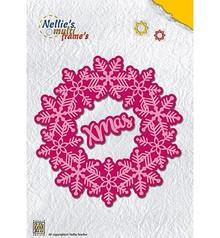 Nellie Snellen Multi Frame Christmas Wreath Xmas (MFD108)