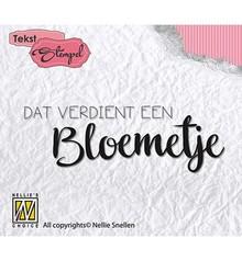 Nellie Snellen Bloemetje Clear Stamps (DTCS011)