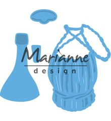 Marianne Design Creatable Tiny's Italian Wine Bottle (LR0479)