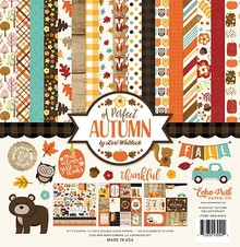 Echo Park A Perfect Autumn 12x12 Inch Collection Kit (APA132016)