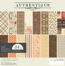 Authentique Bountiful 6x6 Inch Paper Pad (BNT010)