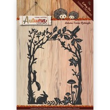 Yvonne Creations Autumn Colors Frame Rectangle Cutting Die (YCD10106)