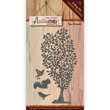 Yvonne Creations Autumn Colors Tree Branch Cutting Die (YCD10107)