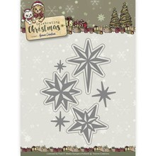 Yvonne Creations Celebrating Christmas Twinkling Stars Cutting Die (YCD10109)