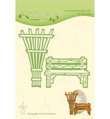 Leane Creatief LeCrea' Combi Dies Garden Bench & Trellis (45.3547)