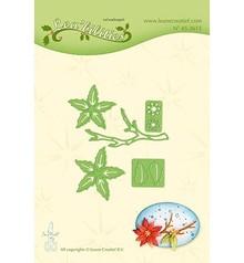 Leane Creatief Lea'bilities Poinsettia Small & Branche (45.3615)