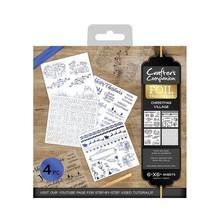Crafter's Companion Foil Transfers - Christmas Village (CC-FOILTR-CVIL)