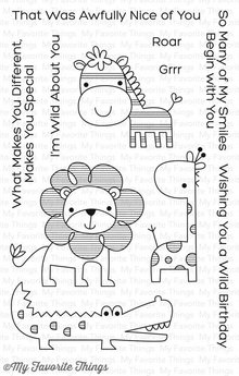 My Favorite Things Wild About You Clear Stamps (CS-201)