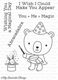 My Favorite Things Magical Day Clear Stamps (CS-221)