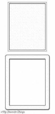 My Favorite Things Die-Namics Rectangle Shaker Window & Frame (MFT-1126)