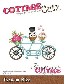 Scrapping Cottage CottageCutz Tandem Bike (CC-325)
