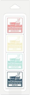 Lawn Fawn Premium Dye Ink Ice Cream Parlor Cube Pack (LF1531)