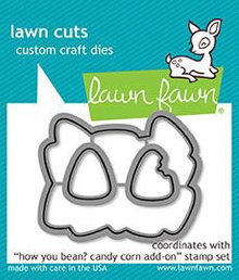 Lawn Fawn How You Bean? Candy Corn Add-on Dies (LF1461)