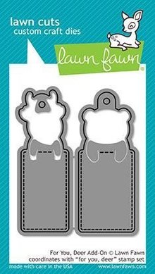 Lawn Fawn For You Deer Add-on Dies (LF1482)