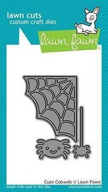 Lawn Fawn Cute Cobweb Dies (LF1492)