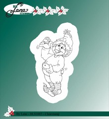 By Lene Clear Stamp Christmas Elves 2 (BLS1003)