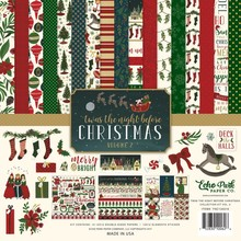 Echo Park 'Twas The Night Before Christmas 12x12 Inch Collection Kit Vol. 2 (TNC134016)