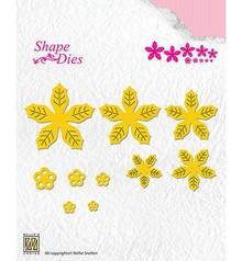 Nellie Snellen Shape Die Poinsettia (SD138)