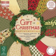 First Edition The Gift Of Christmas 6x6 Inch Paper Pad (FEPAD154X17)