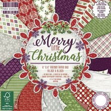 First Edition Merry Little Christmas 6x6 Inch Paper Pad (FEPAD151X17)