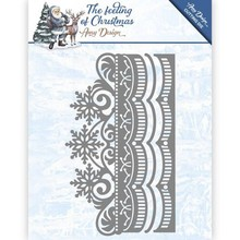 Amy Design The Feeling Of Christmas Ice Crystal Border Die (ADD10111)