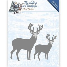Amy Design The Feeling Of Christmas Christmas Reindeers Die (ADD10115)