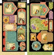 Graphic 45 Seasons Tags & Pockets (4501626)