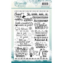Jeanine's Art Winter Classics Clear Stamp Set (JACS10006)