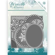 Jeanine's Art Winter Classics Curly Frame Die (JAD10016)