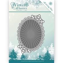 Jeanine's Art Winter Classics Mirror Oval Die (JAD10025)