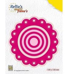 Nellie Snellen Multi Frame Rosette Round (MFD111)