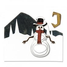Sizzix Thinlits Alterations Snowman Scene (662422)
